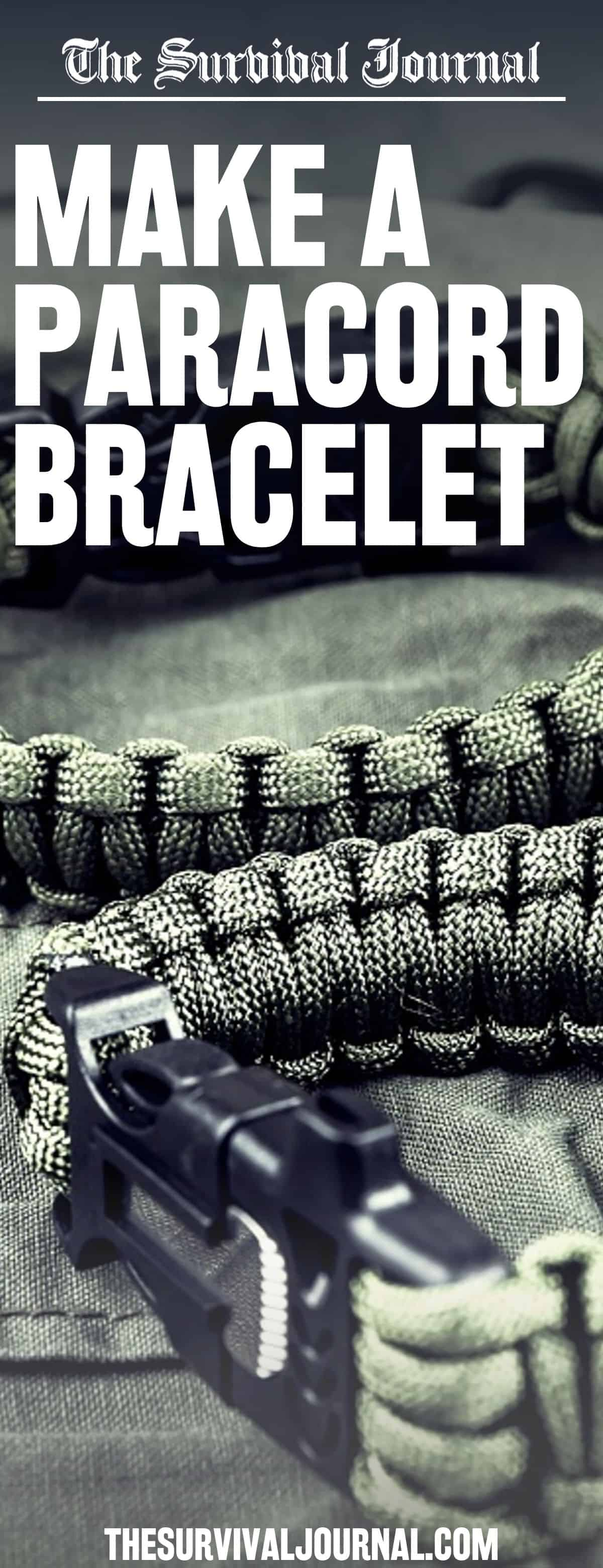 how to make paracord bracelet