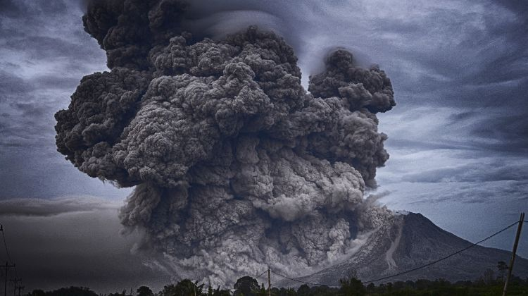 how to prepare for a volcano eruption