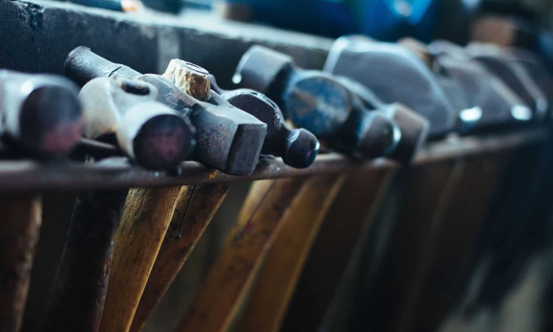 blacksmithing ball pane hammers
