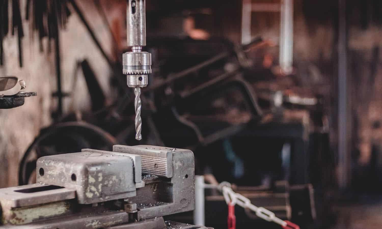 blacksmithing drill