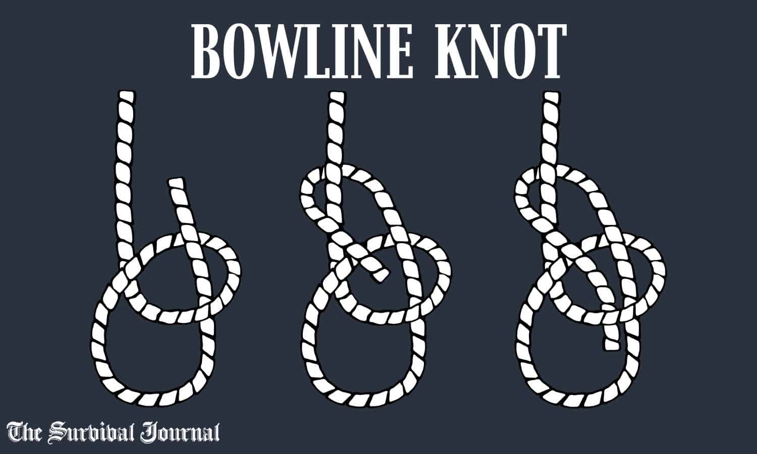 how to tie bowline knot