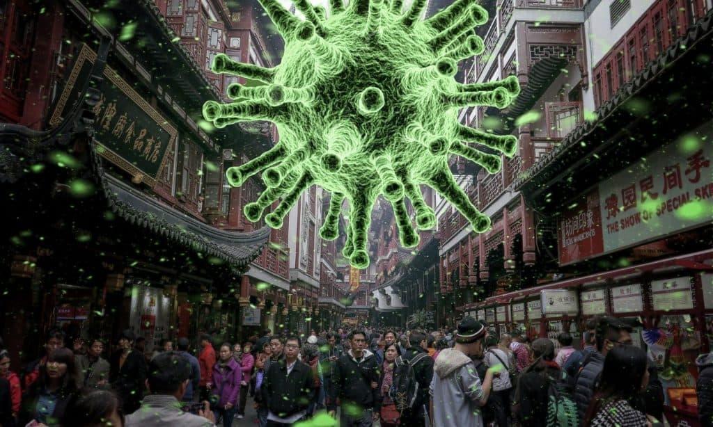 virus spreading